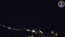 2016年7月29日(GMT)に撮影されたフランスから黒海にかけての夜景です.