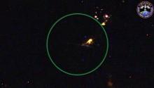 コロンビア上空からの流星
