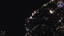 2016年10月5日23時45分頃(GMT) 、スペイン上空で捉えた流星です。