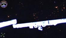 2016年11月18日16時36分頃(GMT) 、南インド洋上空で捉えた流星です。