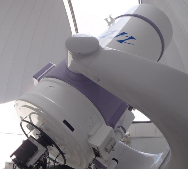 かわべ天文台の1m望遠鏡(カセグレン式反射望遠鏡)