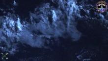 2016年12月10日9時43分頃(GMT) 、南太平洋上空で捉えた流星です(画面右下).