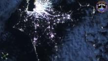 2016年12月14日10時41分頃(GMT) 、日本の北関東上空で捉えた流星です(画面右中央).