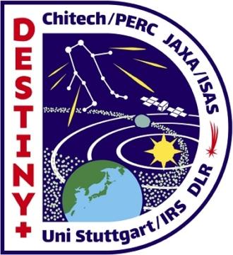 深宇宙探査技術実証機DESTINY+のロゴ