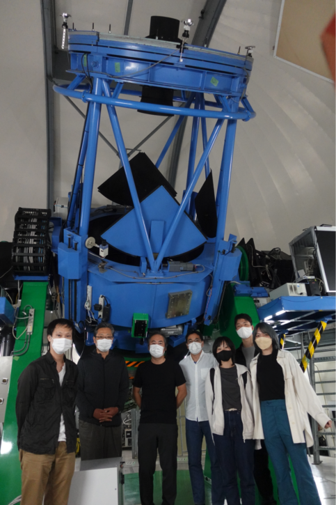 かなた望遠鏡観測班記念撮影