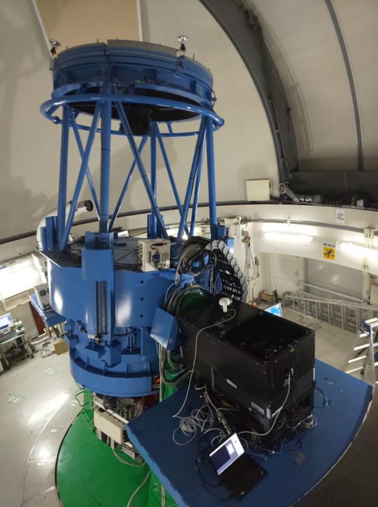 かなた望遠鏡にCMOSカメラ設置